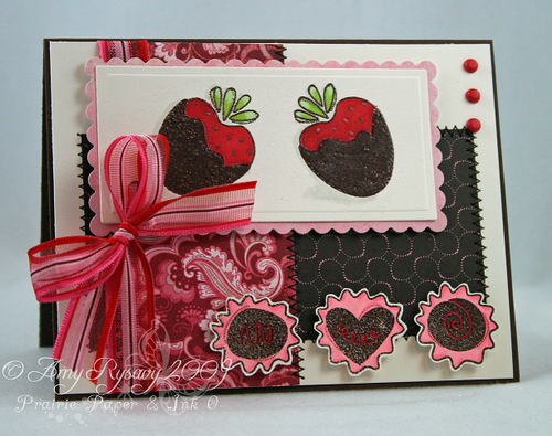 MCS AMYRS54 Chocolate Card by AmyR