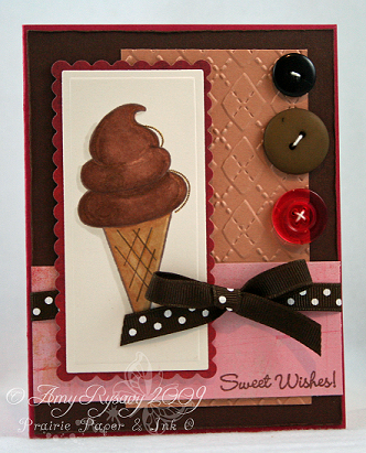 MCS Sweet Wishes Cone Card by AmyR