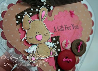 CCD AmyR Stamps Bunny Valentine Heart Container Closeup by AmyR
