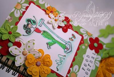 Bella Food Journal Closeup by AmyR