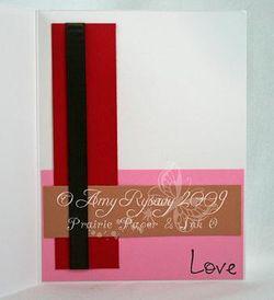 RAM Love Umbrella Card Inside by AmyR