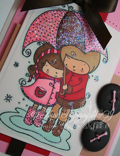 RAM Love Umbrella Card Closeup by AmyR