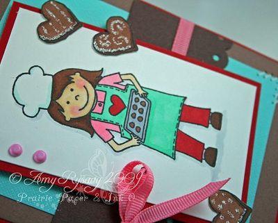 CC Cookie Jar Card Sample Closeup by AmyR