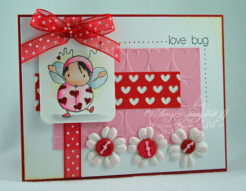 Bella LoveBug Valentine Card by AmyR