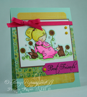RAM AmyR Stamps Best Friends Card by AmyR