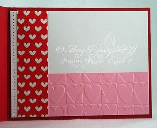 Bella LoveBug Valentine Card Inside by AmyR