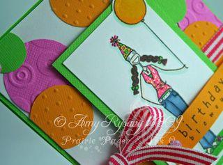 Bella Birthday Blowout Card 1 Closeup by AmyR