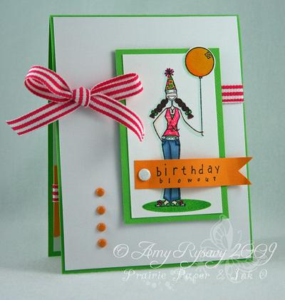 Bella Birthday Blowout Card 2 by AmyR