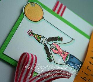 Bella Birthday Blowout Card 2 Closeup by AmyR