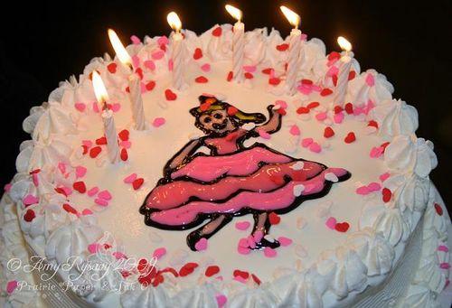 V's DQ B-day Cake