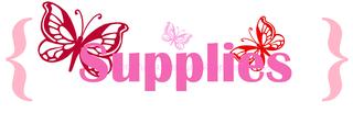 Supplies pinks