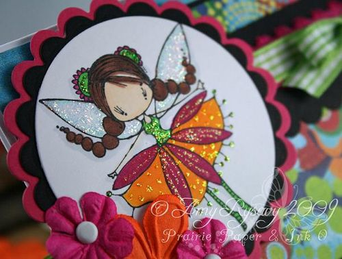 Bella Ketto Thinking of You Card Closeup by AmyR