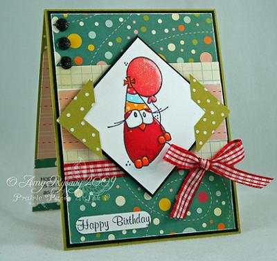 CCD Tweet-ies Happy Bday Balloon Card by AmyR