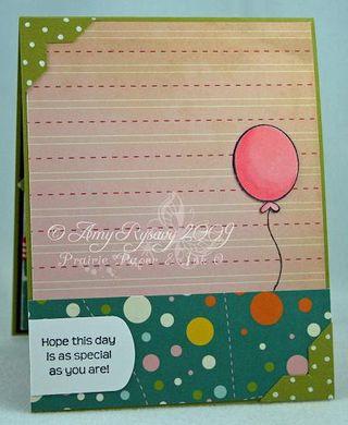 CCD Tweet-ies Happy Bday Balloon Card Inside by AmyR