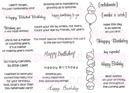 Prairie Paper Amp Ink Birthday Sentiments Now Available
