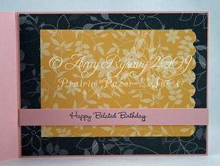 Anya Happy Belated Birthday Card Inside by AmyR