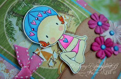 CCD Sugarplums Beach Lifes a Breeze Card Closeup by AmyR