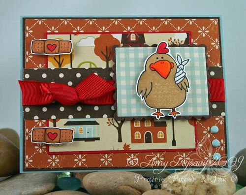 CC Get Well Chicken Card by AmyR