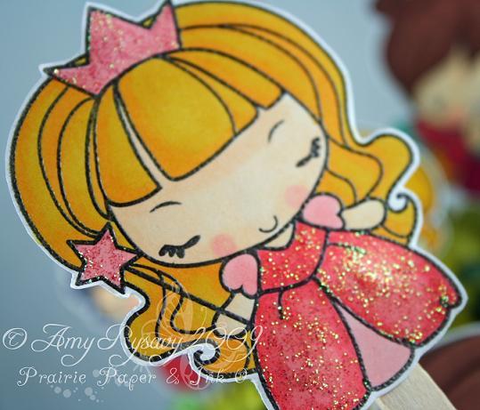 Anya Puppet Set Princess by AmyR