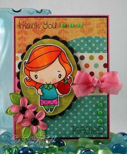 Anya Thank You Teacher Card 1 by AmyR