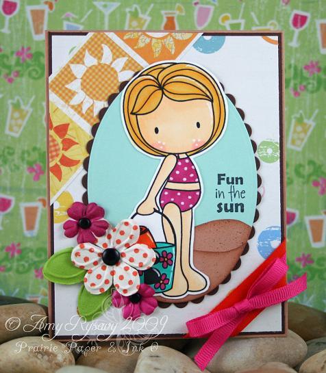 CCD Beachies II Fun in the Sun Card by AmyR