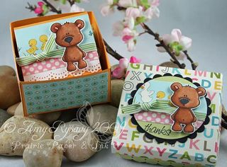 CCD Beary Thanks 3x3 Box Open by AmyR