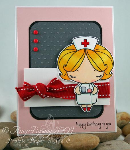 Anya Nurse B-day Card by AmyR