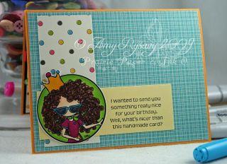 Bella Special Birthday Card Inside by AmyR