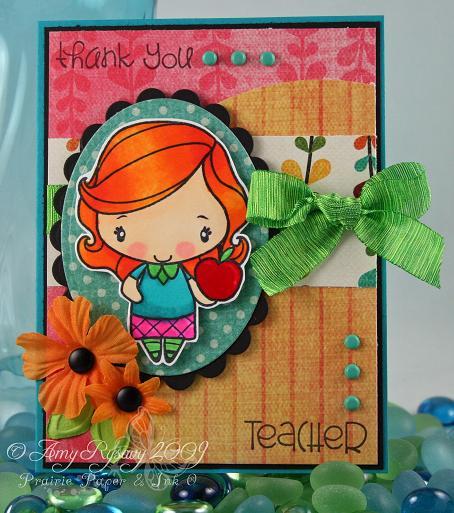 Anya Thank You Teacher Card 2 by AmyR