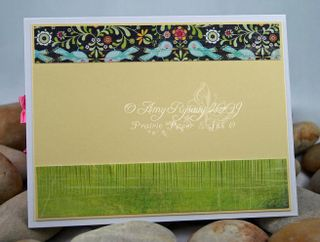 CCD Swiss Pixies Heidi Flower Card Inside by AmyR