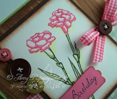 AmyR Stamps Fresh Flowers Hppy bdy Card Closeup by AmyR