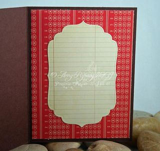 CCD Autumn Sugarplums Apple Emma Teacher Card Inside by AmyR