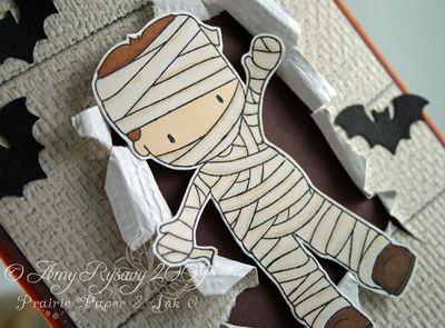 CCD Mummy Trevor Card Closeup by AmyR