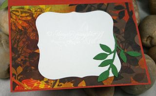 Fluffles Happy Fall Card Inside by AmyR