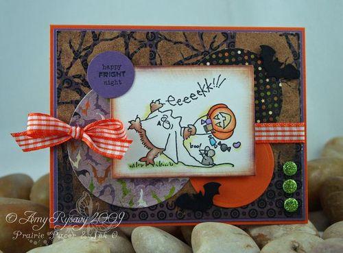 Fluffles Eeeek Card by AmyR