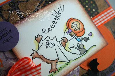 Fluffles Eeeek Card Closeup by AmyR