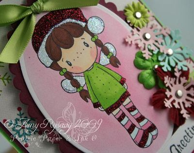 CCD AmyR Stamps Holiday SP Card 2 Closeup by AmyR