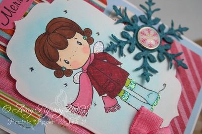 CCD AmyR Stamps Holiday SP Card 3 Closeup by AmyR