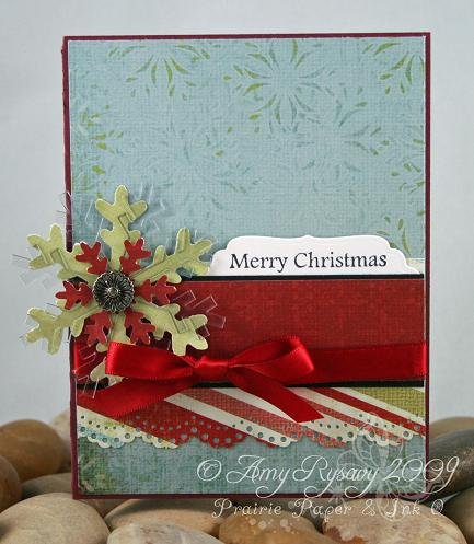 AmyR Stamps Christmas Card Trio Set Card 2 by AmyR