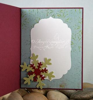 AmyR Stamps Christmas Card Trio Set Card 2 Inside by AmyR
