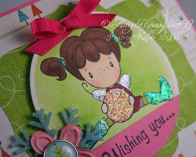 CCD AmyR Stamps Holiday SP Card 1 Closeup by AmyR