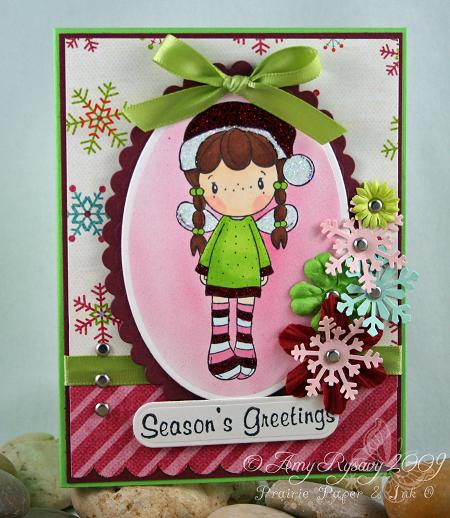 CCD AmyR Stamps Holiday SP Card 2 by AmyR