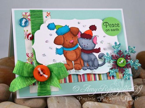 WRS Peace on Earth Card by AmyR