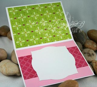 WRS Friendly Flower Cat Card Inside by AmyR