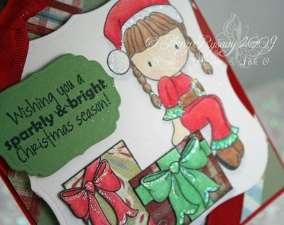 CCD Santa Emma Card Closeup by AmyR