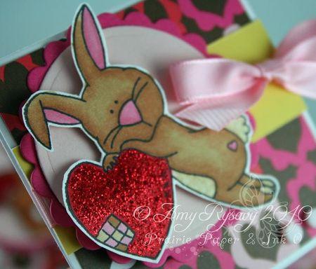 CC Cute Critters Valentine Trio Card 1 Closeup by AmyR