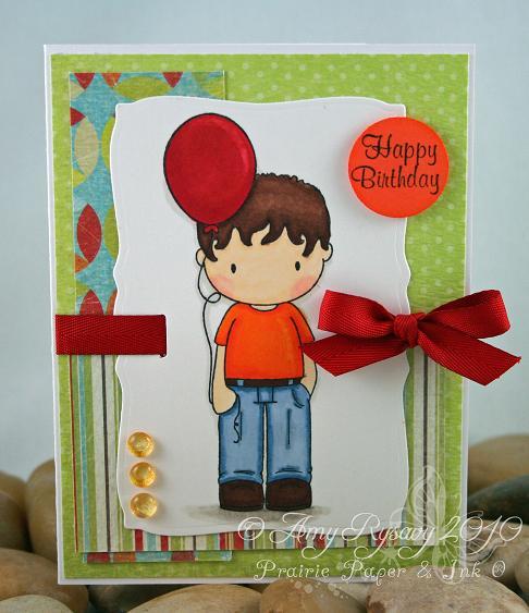 CCD Balloon Trevor Card by AmyR
