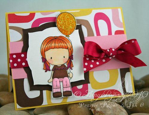 CCD Balloon Emma Card by AmyR