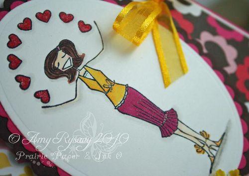 Sending my Love Bella Card Closeup by AmyR