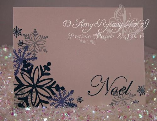 AmyR Stamps Snowflake Card Trio Card 3 by AmyR